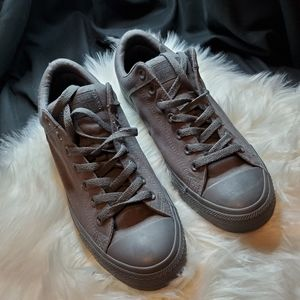 Mono Grey All Star Converse Low Top Size: 9